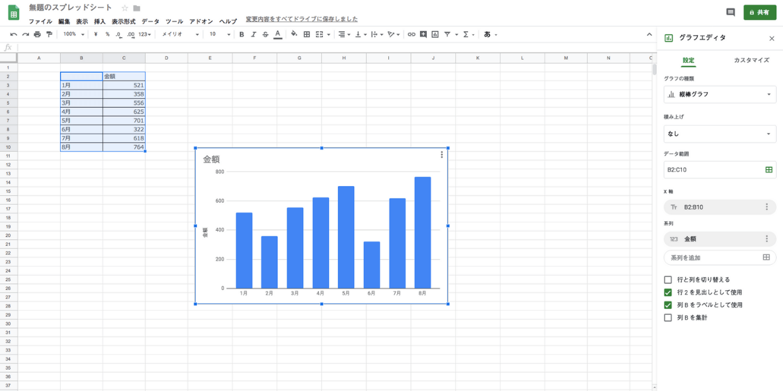 グラフの作り方 06